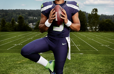 Watch: Russell Wilson Covers Usher's 'Nice and Slow'