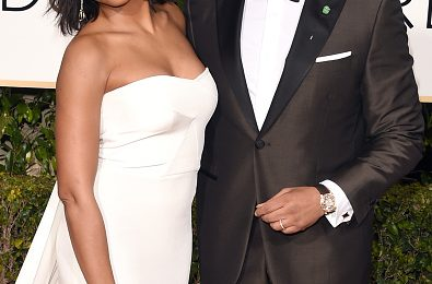 Hot Shots:  Will Smith, Viola Davis, Queen Latifah, & More Rock 'Golden Globes' Red Carpet