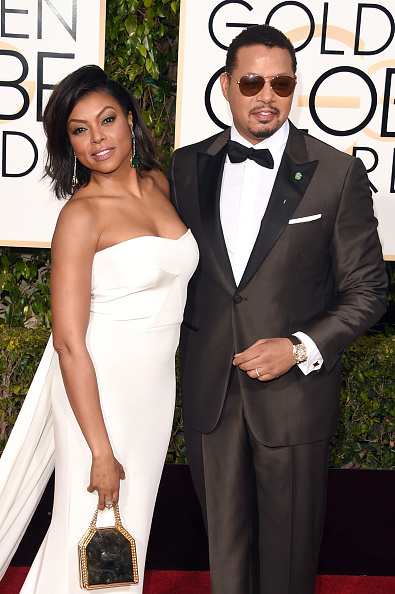 taraji terrance red carpet 2016 thatgrapejuice golden globe