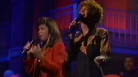 From The Vault: Natalie Cole & Whitney Houston Perform 'Say A Little Prayer'