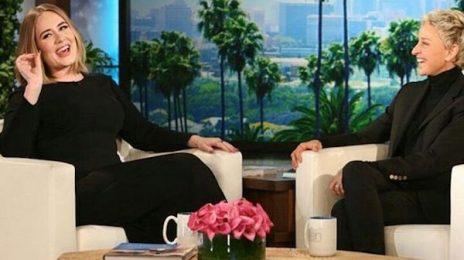 Adele Visits 'Ellen' / Dishes On Grammy Malfunction & More