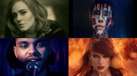 Chart Check [Billboard 200]:  Adele, Taylor Swift, & Justin Bieber Rebound After Grammys