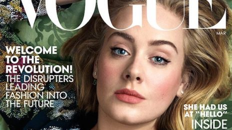 Adele Covers US Vogue