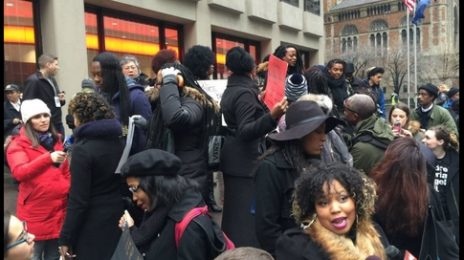 Anti-Beyonce Protest Turns Into Pro-Beyonce Rally