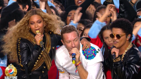 Celebrities React To Coldplay/Beyonce/Bruno Mars 'Super Bowl' Halftime Show