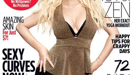 Christina Aguilera Covers Women's Health