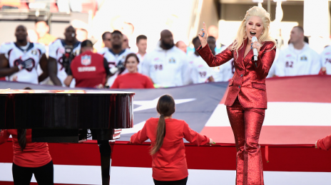 Watch: Lady Gaga Soars With 'Star Spangled Banner' At Super Bowl