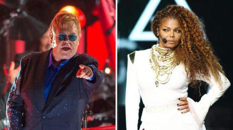 Shade!  Elton John Slams Janet Jackson's 'Unbreakable' Tour