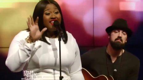 Watch: Jazmine Sullivan Marvels With 'Masterpiece' On 'Kelly & Michael'
