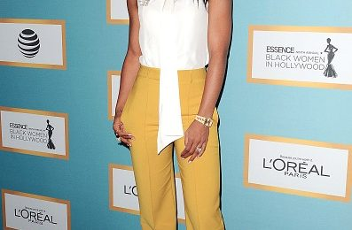 Hot Shots: Kelly Rowland Stuns At Essence Women In Hollywood Gala