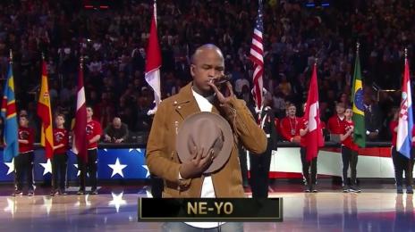 Watch:  Ne-Yo Nails 'U.S. National Anthem' at NBA All-Star Game 2016