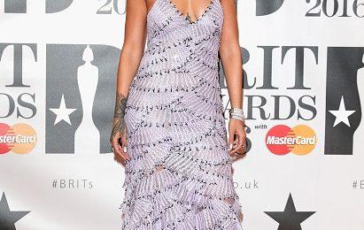 Hot Shots: Rihanna Rocks BRIT Awards Red Carpet