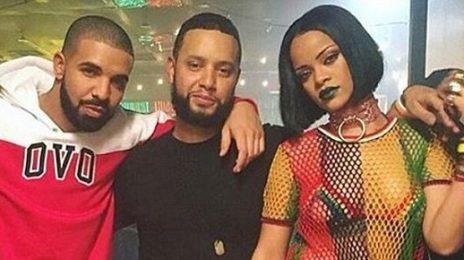 Hot Shot: Rihanna Shoots 'Work' Video With Drake