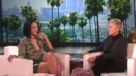 Watch: Rihanna Visits 'Ellen' / Promotes 'ANTI Tour' & Dating Life