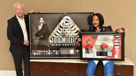 Queen of Digital Music:  Rihanna Makes RIAA History With 100 Million Certifications