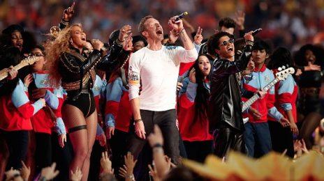 Watch: Beyonce, Bruno Mars & Coldplay Rock Super Bowl Halftime Show