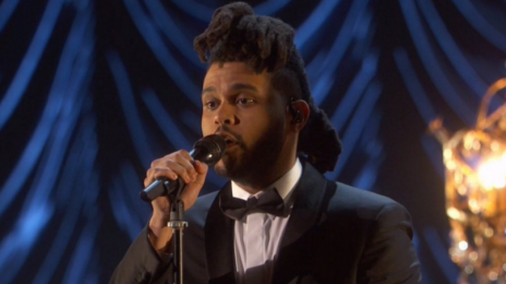 Watch:  The Weeknd Wails 'Earned It' At #Oscars2016