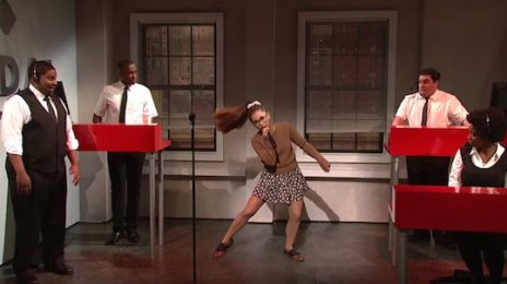Watch: Ariana Grande Shines In 'SNL' TIDAL Skit / Impersonates Rihanna, Britney Spears, & More
