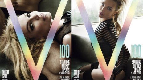 Britney Spears Blazes 'V Magazine's 100th Issue