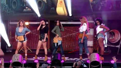 Watch: Fifth Harmony Wow With 'Work From Home' On Kimmel