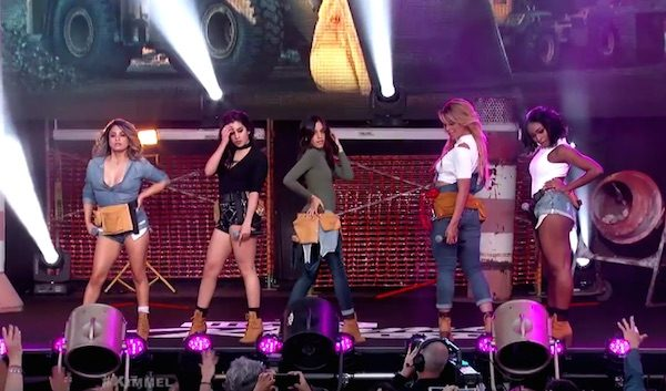 "Fifth Harmony - ""Work From Home"" en Kimmel Show - 2"