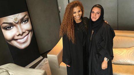 Janet Jackson Meets Fans At Dubai Diamond Launch After Tour Resumes