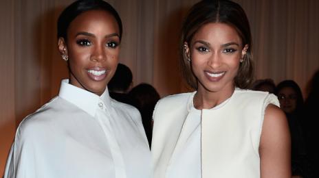 Ciara & Kelly Rowland Stun Front Row At Lanvin Fashion Show