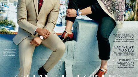 Michael B. Jordan Covers 'The Hollywood Reporter'