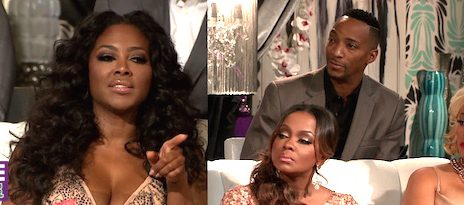 Preview: Kim Fields' Husband Confronts Kenya Moore Over Gay Rumors At 'Real Housewives of Atlanta' Reunion