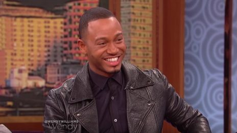 Terrence J Visits 'Wendy' / Talks Rumored Relationship With Brandy & Sexy Scenes With Cassie