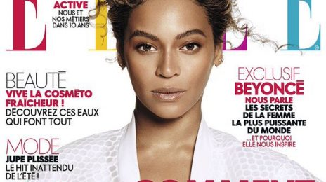 Beyonce Covers ELLE Magazine France