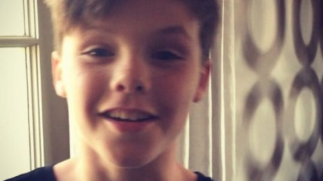 Move Over Bieber! Cruz Beckham (Son Of Victoria & David) Showcases Singing Gift