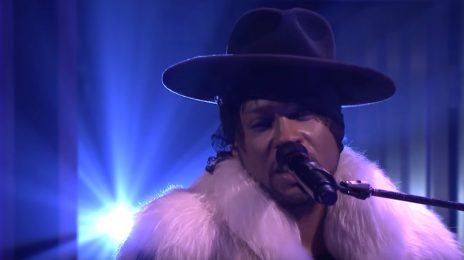 Did You Miss It? D'Angelo Dazzles With Prince Tribute On 'Fallon'