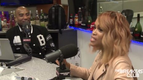 Watch: Eve Visits 'The Breakfast Club' / Dishes On 'Barbershop 3,' New Music, & Marriage