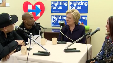 Watch: The Breakfast Club Interviews...Hillary Clinton