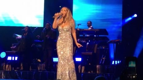 Mariah Carey Belts 'Fly Like A Bird' Live In South Africa