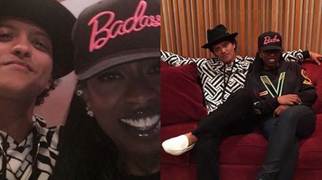 Missy Elliott Hits The Studio With Bruno Mars / Spills On New Music