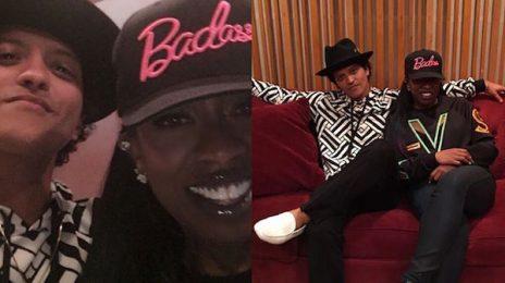 Missy Elliott Hits The Studio With Bruno Mars / Spills On New Music