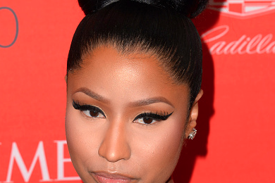 Nicki Minaj Rocks Out At The Times 100 Gala
