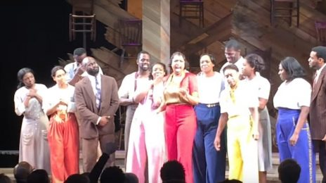 Emotional: Jennifer Hudson & 'The Color Purple' Cast Soar With Prince 'Purple Rain' Tribute