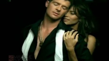 From The Vault: Robin Thicke - 'Lost Without U'