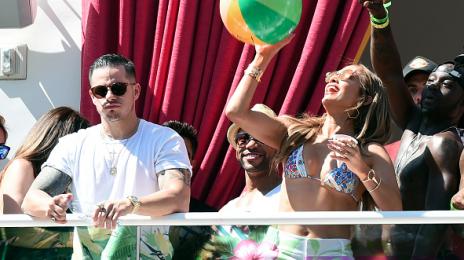 Hot Shots: Jennifer Lopez Parties At Drai's Beach Club