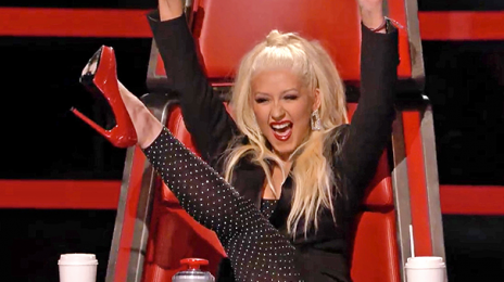 Christina Aguilera Teases Duet With Whitney Houston's Hologram