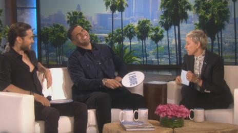 Watch: Drake Takes 'VIEWS' & Games To 'Ellen'