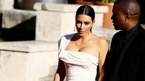 Hot Shots: Kanye West & Kim Kardashian Arrive At The Premiere Of 'La Traviata'