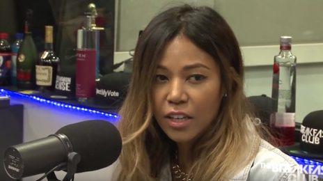 Ameriie Visits 'The Breakfast Club' / Addresses Hiatus & Beyonce Comparisons