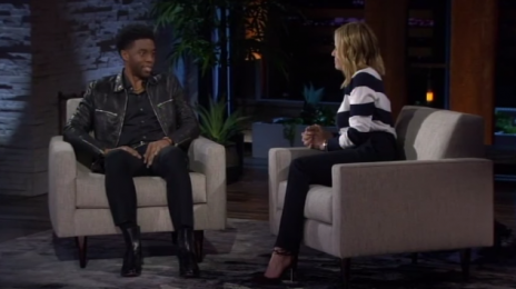 Watch: Chelsea Handler Interviews Chadwick Boseman Before 'Black Panther' Release