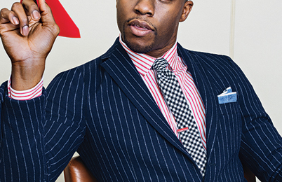 Chadwick Boseman Talks Marvel, 'Captain America' and 'Black Panther' Introduction