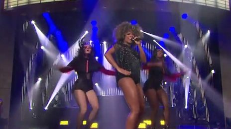 Watch: Fleur East Electrifies 'James Corden' With 'Sax'