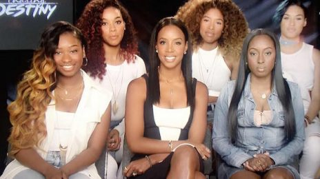 "Kelly Rowland Responds To Mathew Knowles' ""Group-Off"" Challenge"